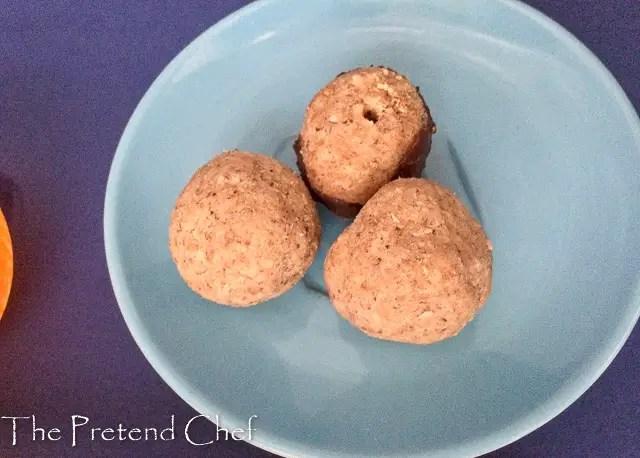 plain tiger nut energy balls