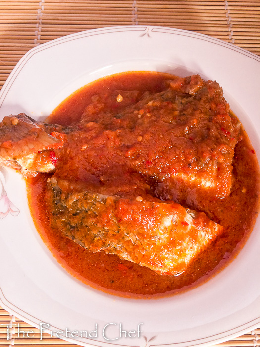 Rich and spicy Nigerian fish stew (Imoyo), Obe eja tutu