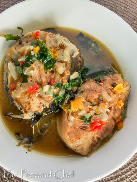 Catfish pepper soup (Point and kill)