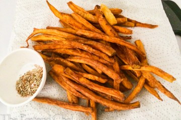Healthy and Tasty Carrot Fries