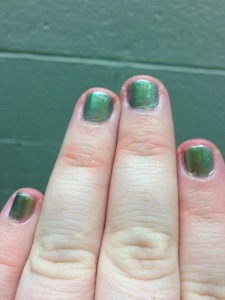 The Pretty Plus - Mani (Last) Monday: Mystic Green by Maybelline