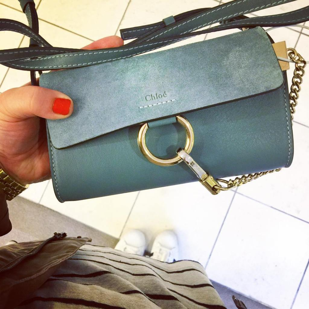 Just obsessing over this little chloe bag this morning Emailhellip