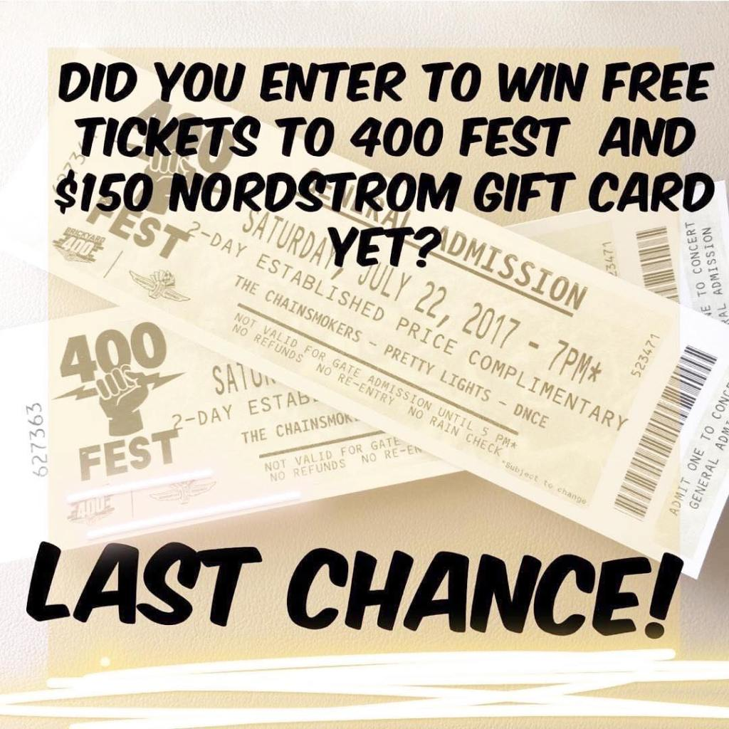 Did yall enter for a chance to win tickets tohellip