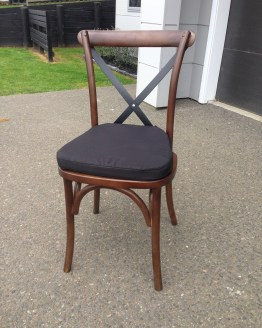 bentwood cross back chair hire nz