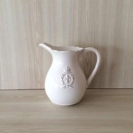 white pitcher jug vase hire auckland new zealand