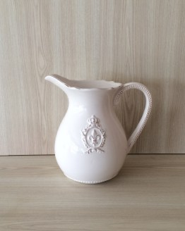 white pitcher jug vase hire auckland new zealand