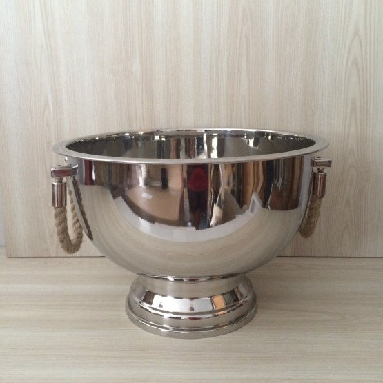 SILVER CHAMPAGNE BOWL HIRE NZ