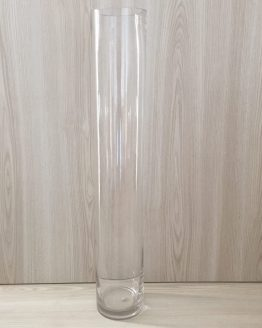 clear cylinder vase hire