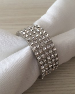 diamante napkin ring hire new zealand