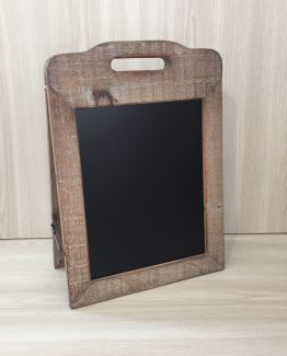 DOUBLE SIDED CHALKBOARD SMALL NATURAL