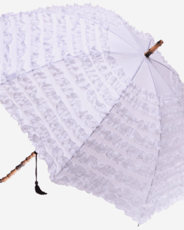 white umbrella hire