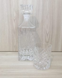 whiskey decanter and glass hire nz