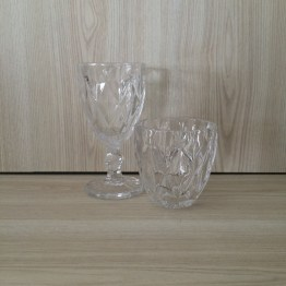 clear glassware hire auckland