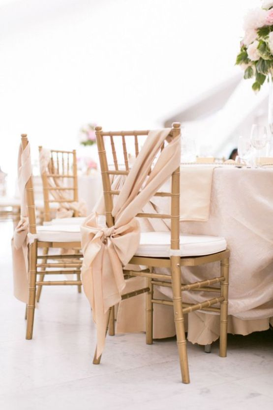 gold chiviari tiffany chair hire nz
