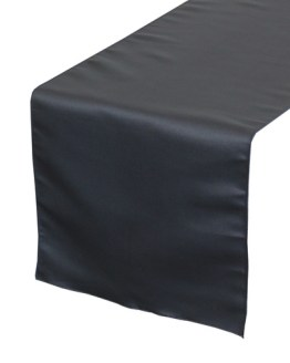 navy table runner hire