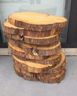wood round hire