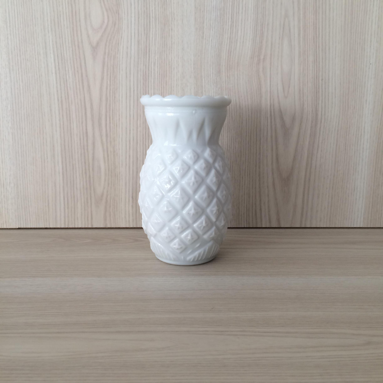 White milk glass vase images vases design picture milk glass pineapple vase white the pretty prop shop wedding white milk glass vase hire auckland reviewsmspy