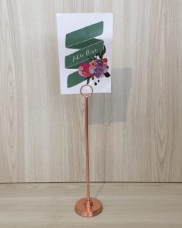 rose gold spindle table number hire auckland new zealand