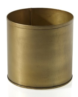 gold cylinder vase hire