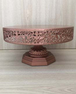 rose gold cake stand hire nz