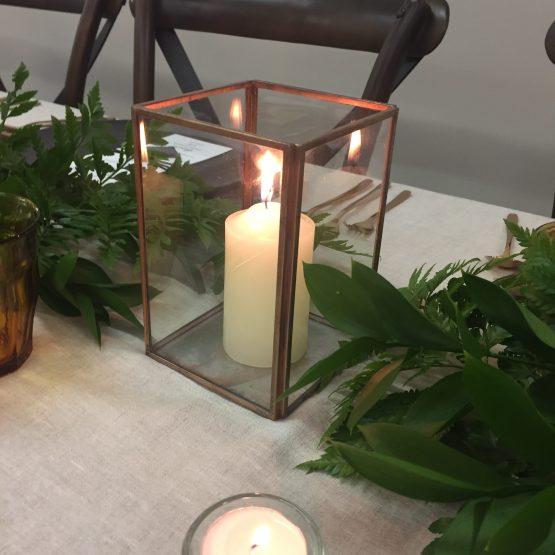 copper lantern box hire nz