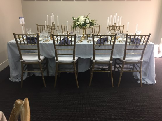 gold tiffany chair hire nz