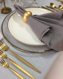 grey napkin hire nz gold cutlery hire auckland