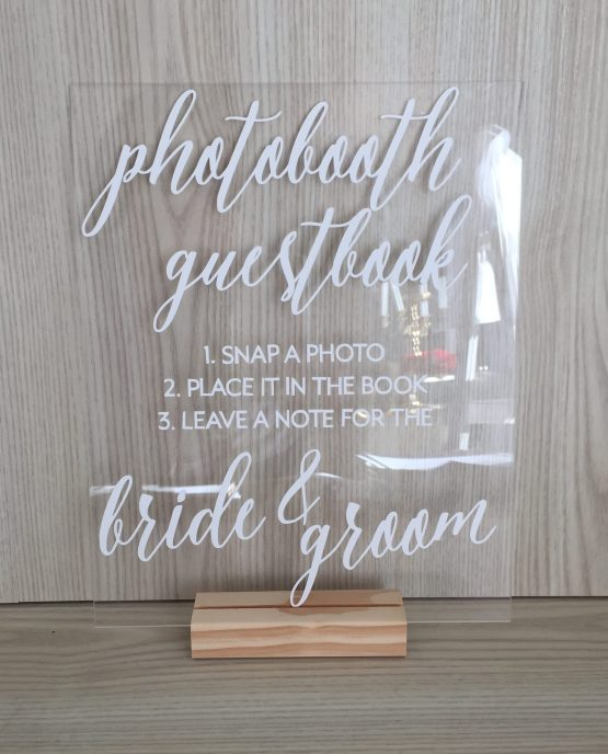 photobooth guestbook sign