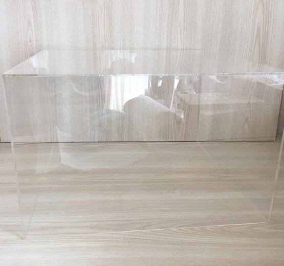hire perspex cube