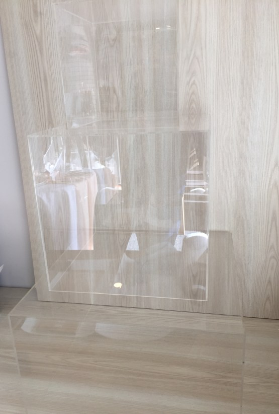 perspex cubes