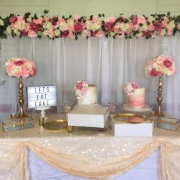 sequin tablecloth hire