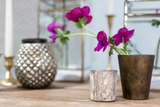 marble swirl tealight holder