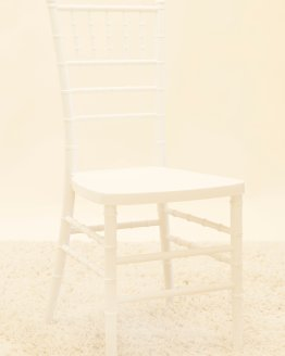 white tiffany chair hire nz