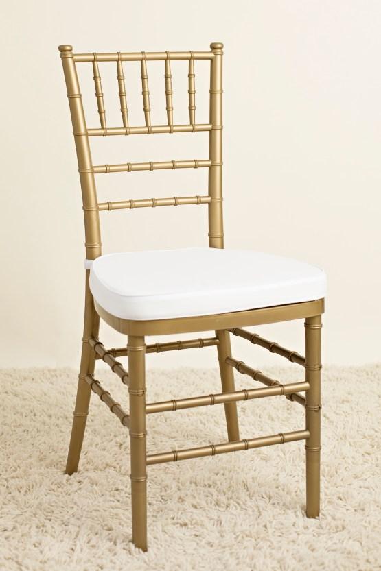 gold tiffany chair hire nz