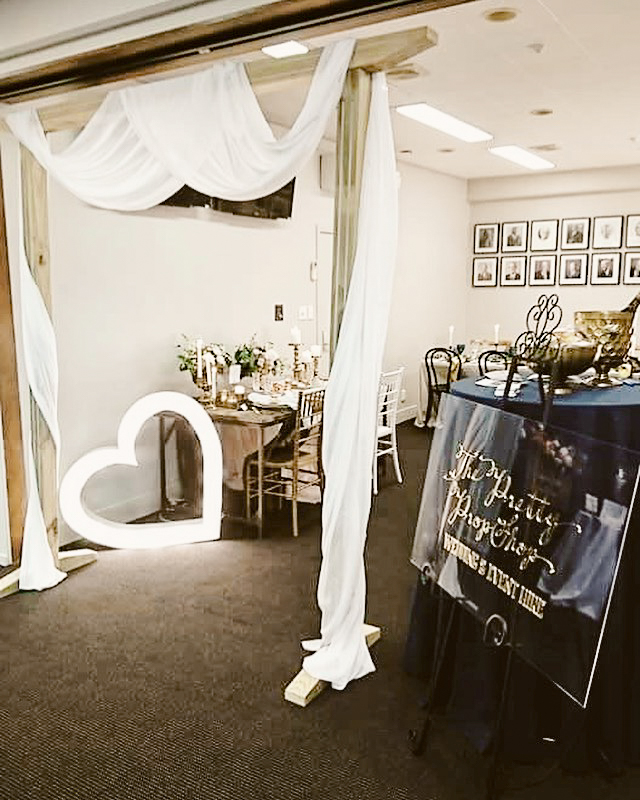 Expo Stands Nz : Pukekohe park wedding expo the pretty prop shop