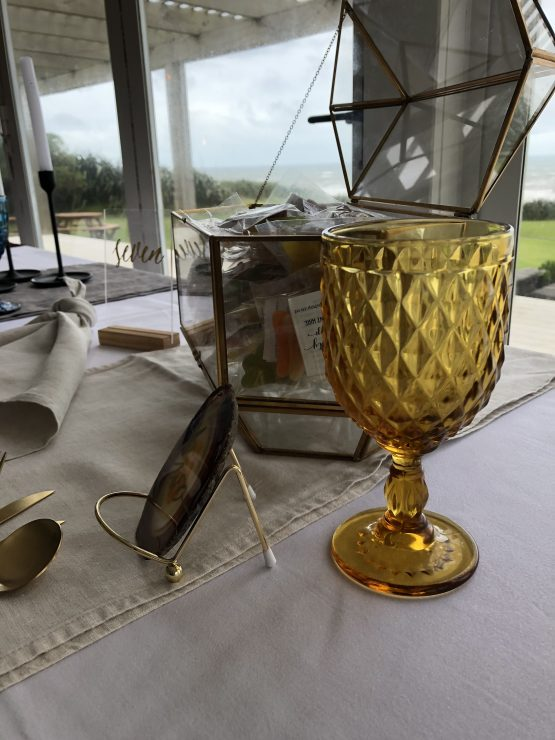 amber goblet hire nz