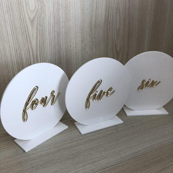 acrylic wedding nz