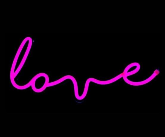 love neon sign hire nz