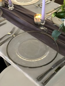 charger plate hire auckland