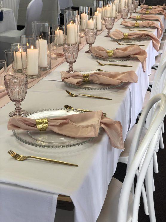 matte gold cutlery hire auckland nz