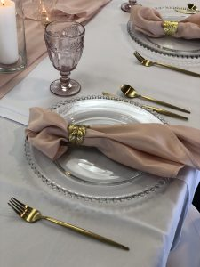 gold napkin ring hire auckland nz