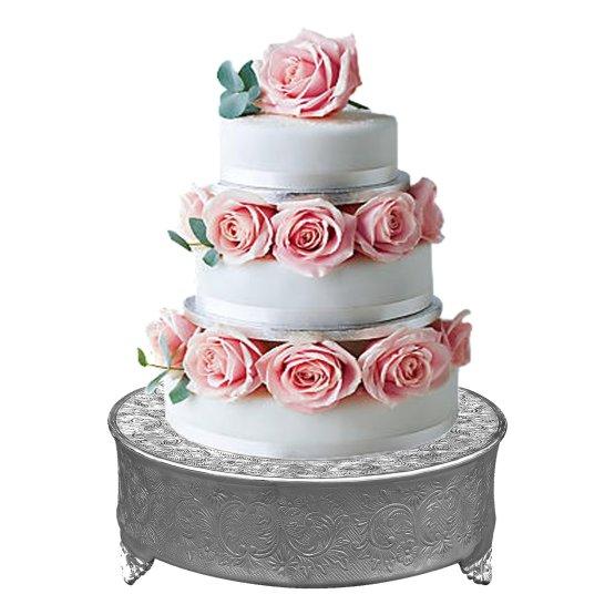 silver cake plateau hire nz