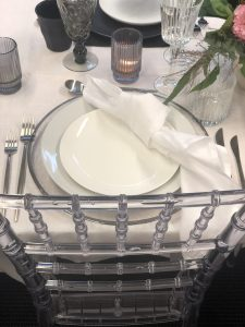silver charger plate hire nz