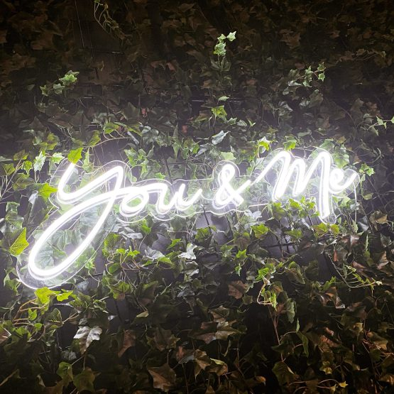 you & me neon hire nz