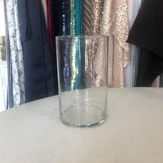plain cylinder vase hire nz