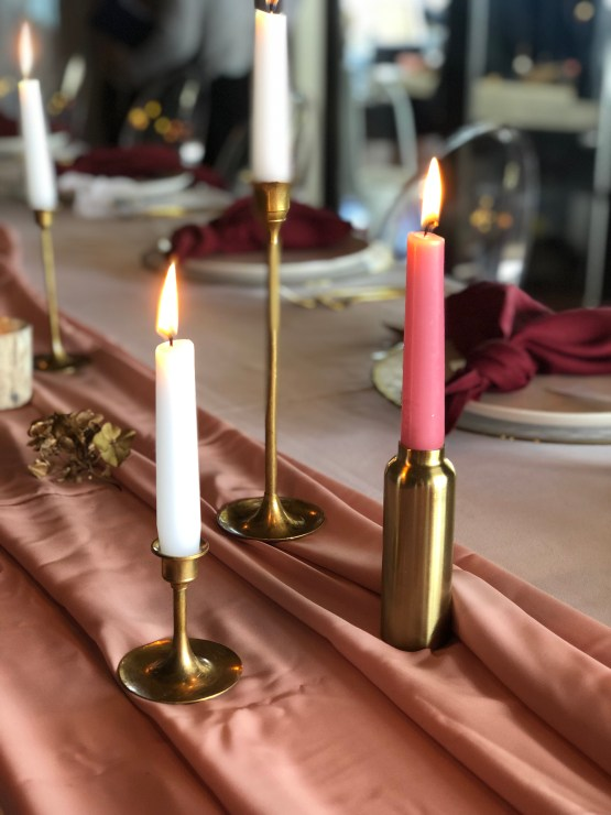 gold candlestick hire nz