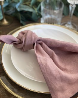 dusky pink napkin hire nz