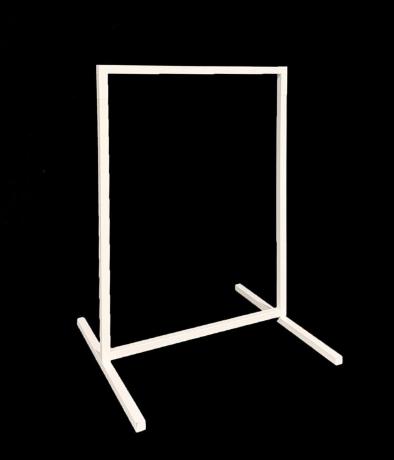 wedding sign frame stand nz
