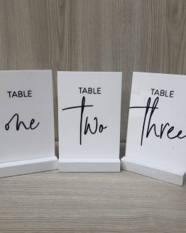 table number for hire nz