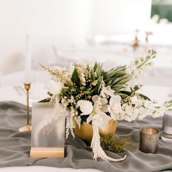 wedding table decor hire nz